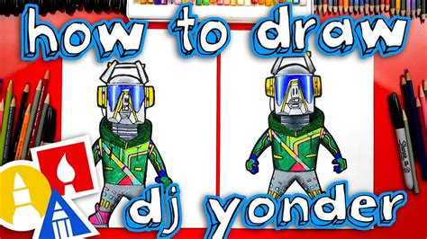How To Draw Dj Yonder From Fortnite
