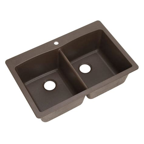 blanco dual mount composite 33 in 1 bowl kitchen sink in anthracite 440220