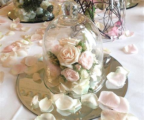 cloche en verre 18 cm mariage d 233 coration mariage table