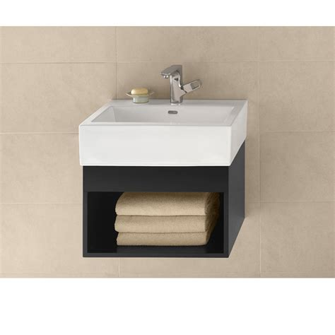 ronbow 22 quot vanity integrated black free