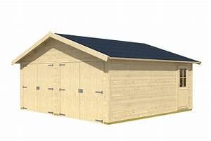 Bausatz Haus Für 25000 Euro : garage skanholz varberg doppelgarage holzgarage bausatz seitliche t r garagen aus holz ~ Markanthonyermac.com Haus und Dekorationen