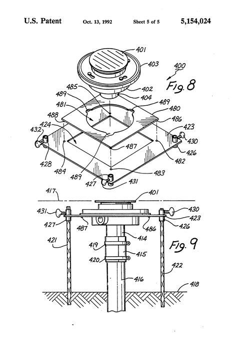 Patent Us5154024  Floor Sinkdrain Installation Method