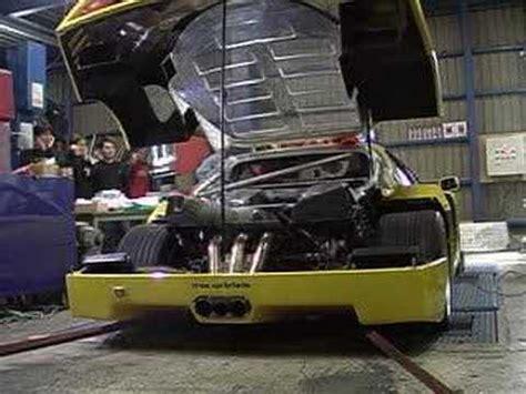 Ferrari F40 Au Banc De Puissance Youtube