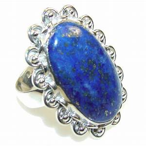 Royal Blue Lapis Lazuli : royal blue lapis lazuli sterling silver ring s 11 best price at silver rush ~ Markanthonyermac.com Haus und Dekorationen