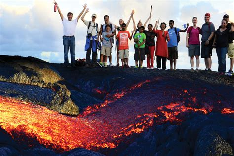 Private Lava Boat Tours Hawaii by Guided Lava Hikes Lava Ocean Tourslava Ocean Tours