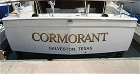 Texas Boat Lettering Requirements by Decals Boat Lettering Signquick