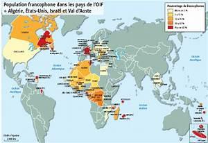 Carte des pays francophones | C'est français | Pinterest ...