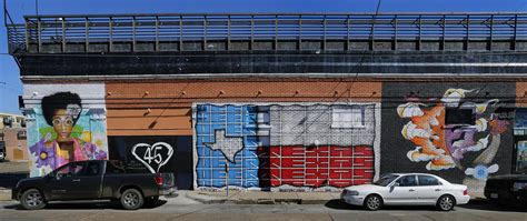 how a dallas developer helped artists turn ellum into