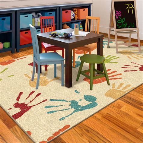 5 Things To Think About When Choosing Kids Playroom Rugs