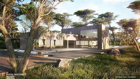 3dmax Landscaping Vray Rendering Training In Surat
