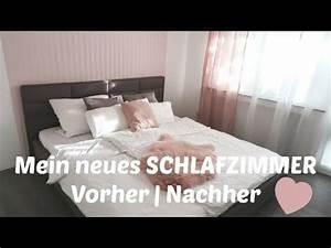 Schlafzimmer Vorher Nachher : neues schlafzimmer vorher nachher renovieren tapeten runter neues bett youtube ~ Markanthonyermac.com Haus und Dekorationen