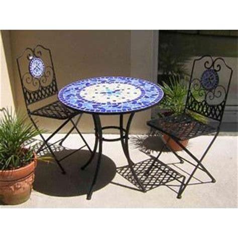 table de jardin fer forg 233 et mosa 239 que bleue 216 76 achat