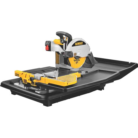dewalt d24000 1 5 horsepower 10 inch tile saw power