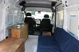 Our ProMaster Camper Van Conversion - Interior Layout ...