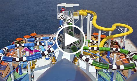 Dream Boat Singapore by The 5 Craziest Cruise Ship Water Slides Huffpost