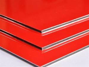 Wandverkleidung Aus Kunststoff : aluverbundplatte rot 3mm verbundplatte aus aluminium u kunststoff ebay ~ Markanthonyermac.com Haus und Dekorationen