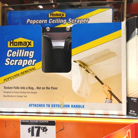popcorn ceiling scraper i want to use this on our ceilings projects