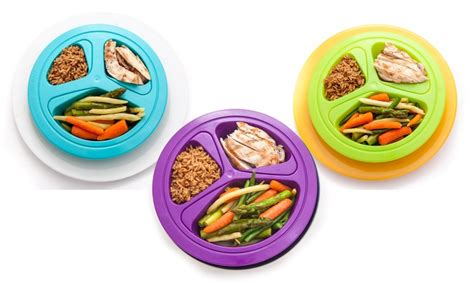 portions master portion plates groupon