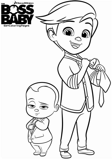 Halloween Colouring Books For Adults by 20 Free Printable Boss Baby Coloring Pages