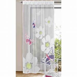 Kinderzimmer Gardinen Schmetterling : gardine schmetterlinge mit blumen 245 x 140 cm mytoys ~ Markanthonyermac.com Haus und Dekorationen