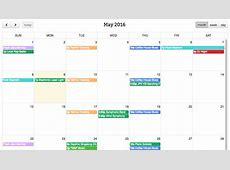 FullCalendar Simple Calendar