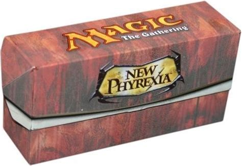 New Phyrexia Green Event Deck New Phyrexia Empty White Deck Box From The Event