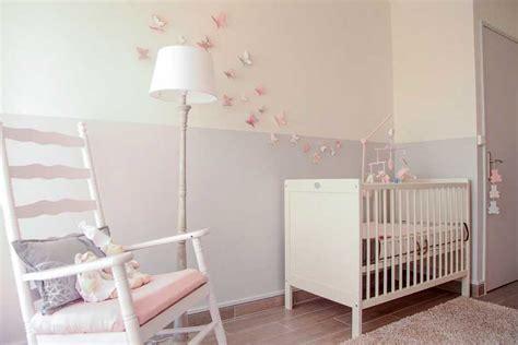 papillon stickers chambre b 233 b 233 fille pas cher pour id 233 es d 233 coration chambre bebe interieur