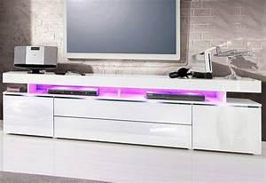 Lowboard Weiß Hochglanz 3m : lowboard breite 200 cm online kaufen otto ~ Markanthonyermac.com Haus und Dekorationen