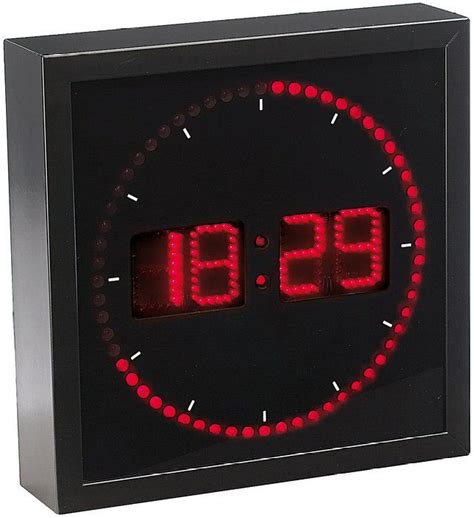 1000 id 233 es sur le th 232 me horloge murale led sur horloge num 233 rique murale le 224 led