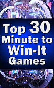 Top 30 Minute to Win It Games - The Budget Diet